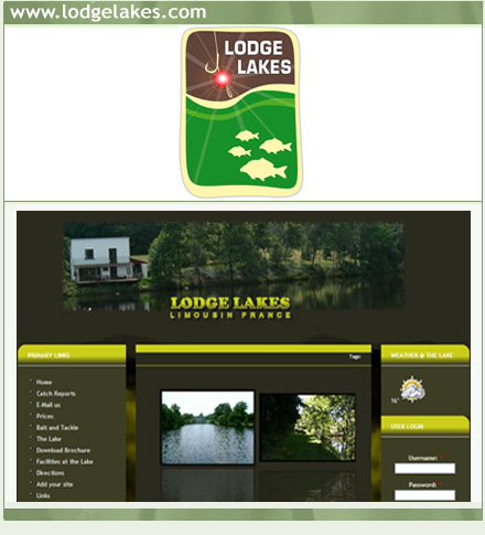 Lodge Lakes - Carp Fishing Holiday in Limousin France